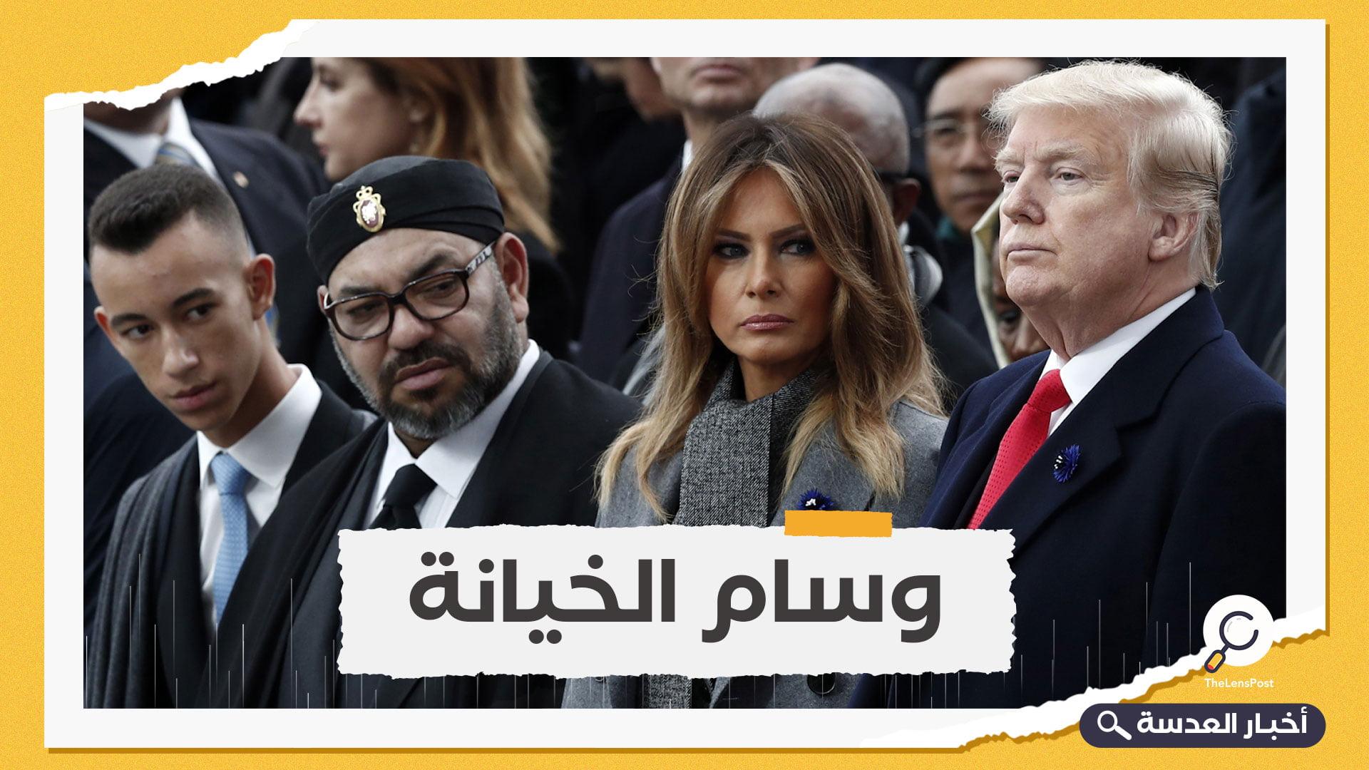 مكافأة على التطبيع.. ترامب يمنح العاهل المغربي وسامًا رفيعًا