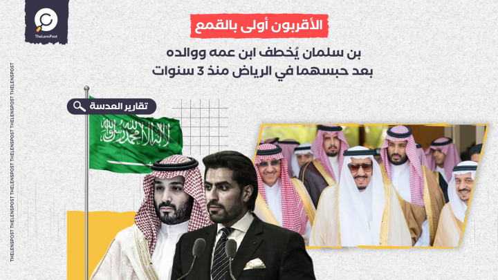 بن سلمان يُخطف ابن عمه ووالده بعد حبسهما في الرياض منذ 3 سنوات