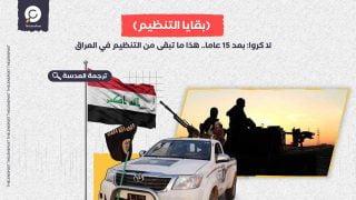 لا كروا: بعد 15 عاما.. هذا ما تبقى من داعش في العراق