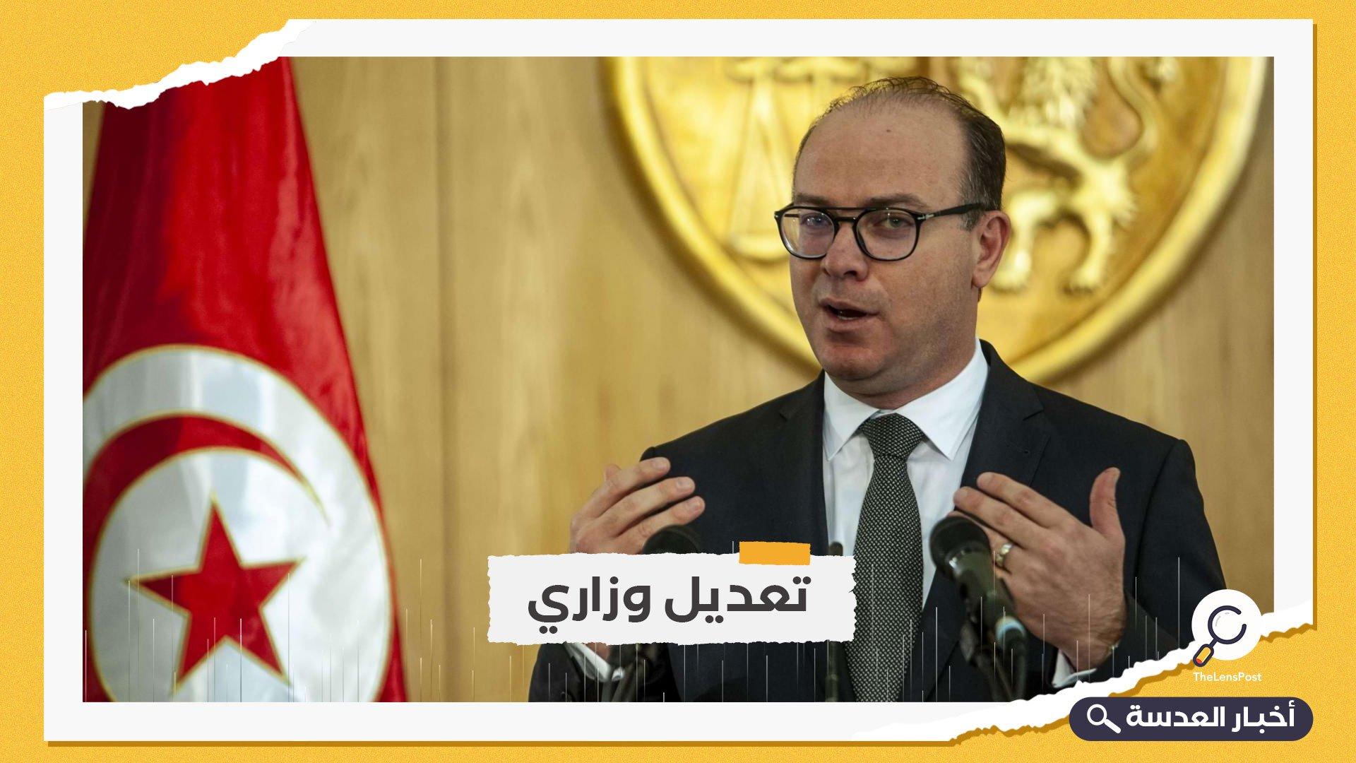 تونس.. رئيس الحكومة يعفي 5 وزراء من مناصبهم