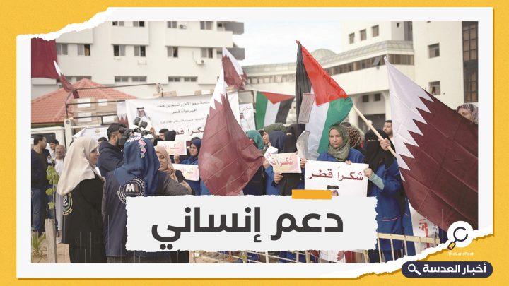 قطر تساعد قطاع غزة المحاصر ب360 مليون دولار