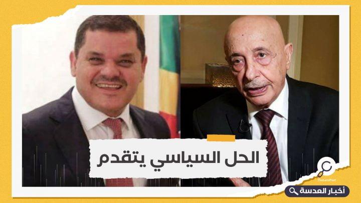 سقوط عقيلة صالح مرشح حفتر أمام عبدالحميد دبيبة مرشح الشرعية