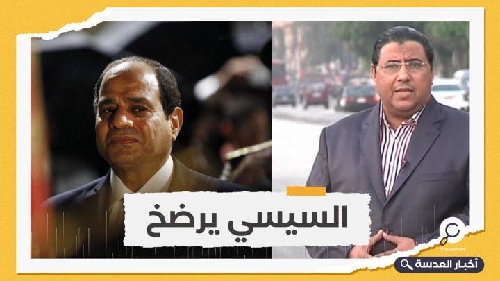 السيسي يضطر لإطلاق سراح صحفي الجزيرة محمود حسين
