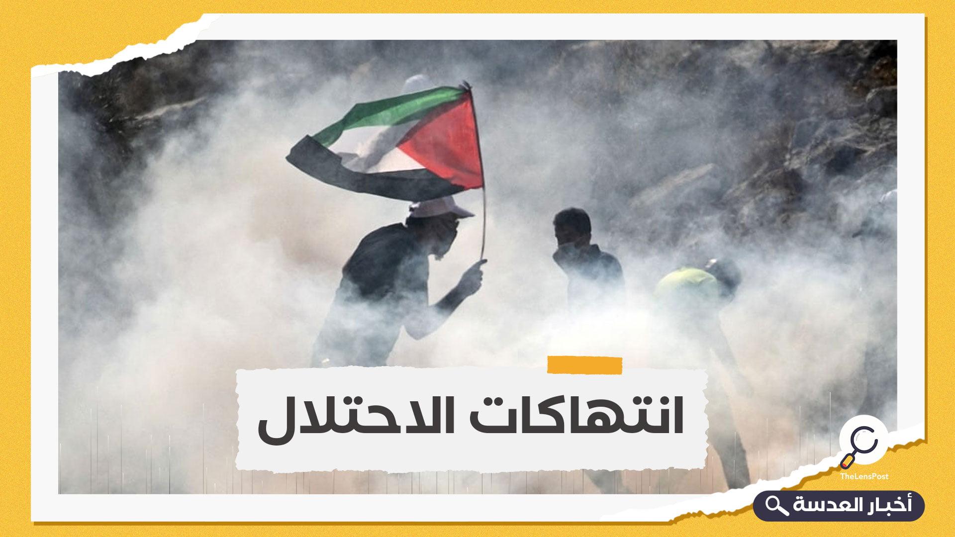 استشهاد شاب فلسطيني برصاص الاحتلال بالضفة