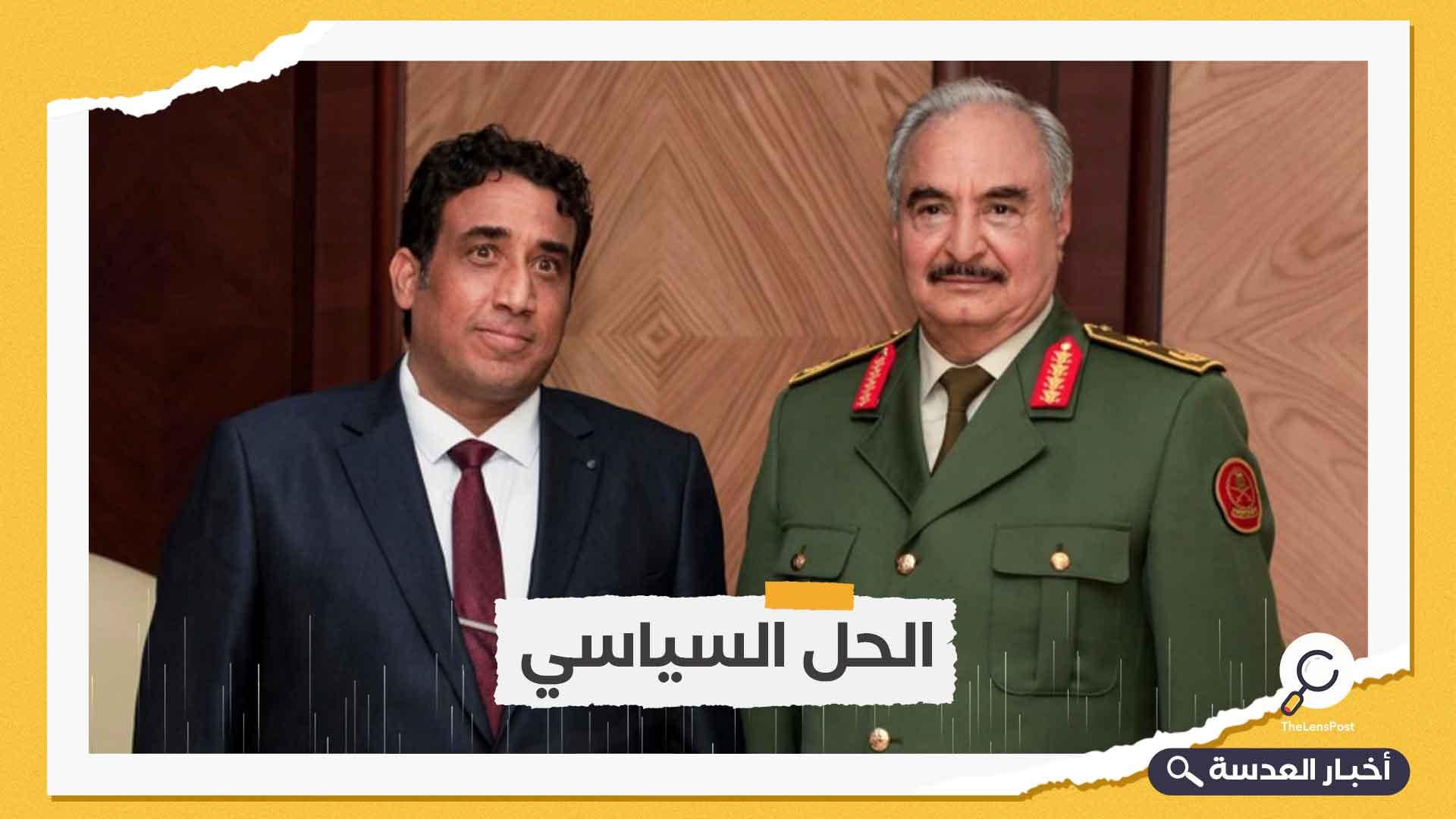 ليبيا.. المنفي يصل سبها للقاء المكونات الاجتماعية والعسكرية بالجنوب