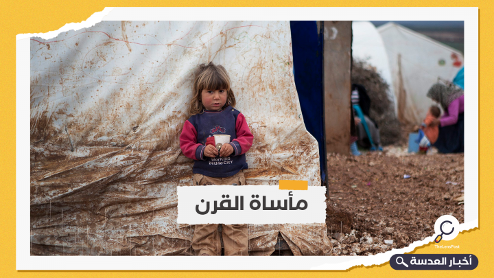 إعلان مناطق النازحين السوريين مناطق منكوبة بعد موجة أمطار غزيرة