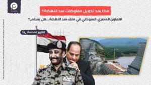 التعاون المصري-السوداني في ملف سد النهضة...هل يستمر؟