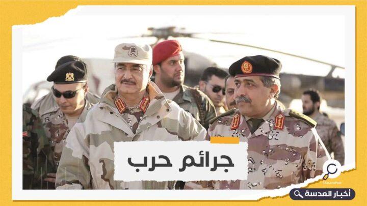 رئيس الحكومة الليبية يأمر بالتحقيق في جثث بنغازي.. وحفتر ينشر ميليشياته في المدينة