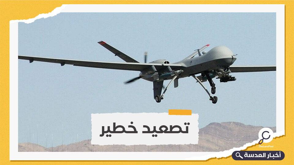 الهجوم الحوثي الأكبر حتى الآن.. التحالف يدمر 10 طائرات مسيرة