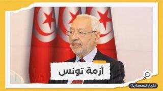 """بعد تظاهرة تطالب باستفتاء لحل البرلمان، الغنوشي: """"لا سبيل اليوم لحل البرلمان مهما كانت الأسباب"""""""