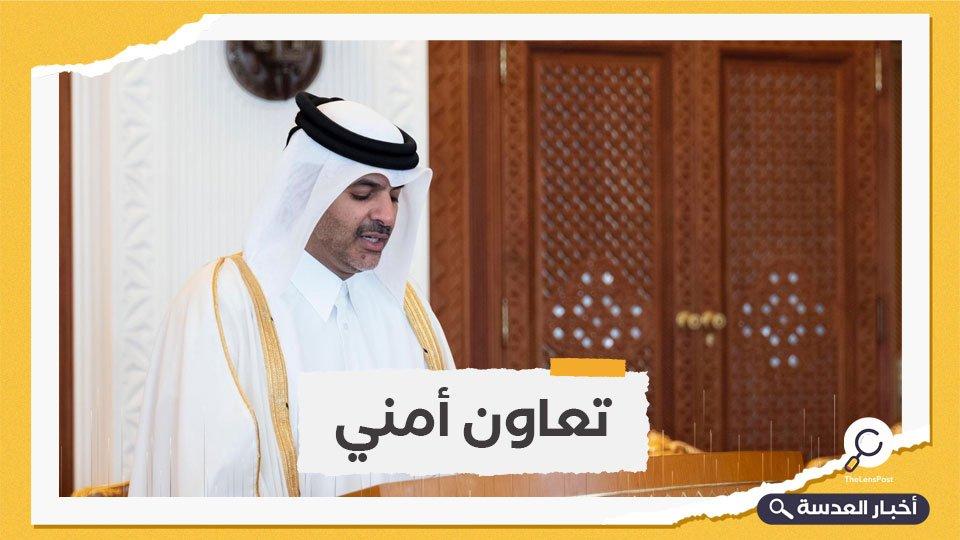 رسالة من وزير الداخلية القطري إلى نظيره السعودي