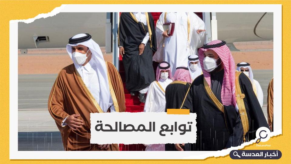 ابن سلمان يتصل بأمير قطر لبحث العلاقات الثنائية