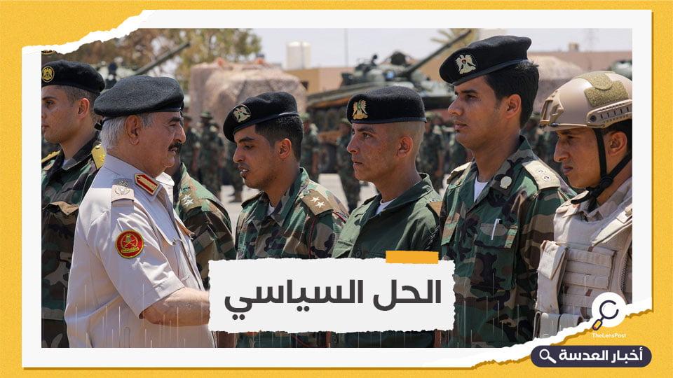 السلطات الليبية الرسمية تفرج عن 120 أسيرًا تابعين لحفتر