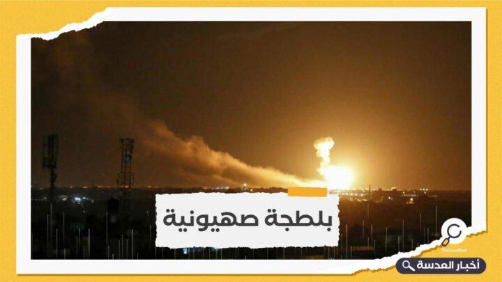طيران الاحتلال الإسرائيلي يشن غارة على دمشق