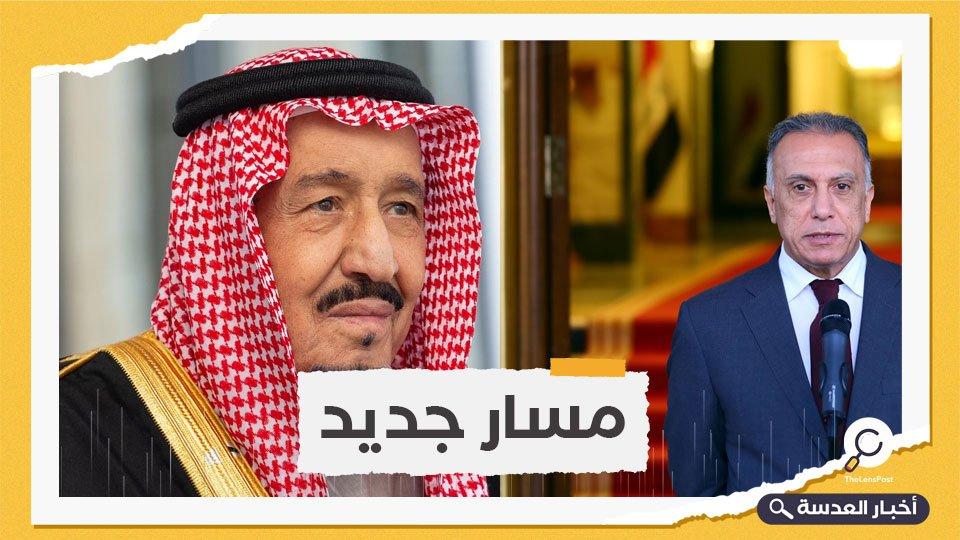 العاهل السعودي ورئيس الوزراء العراقي يتفقان على تعزيز العلاقات بين الجانبين