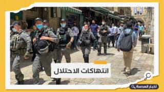 سلطات الاحتلال الإسرائيلي تعرقل وصول المصلين إلى المسجد الأقصى