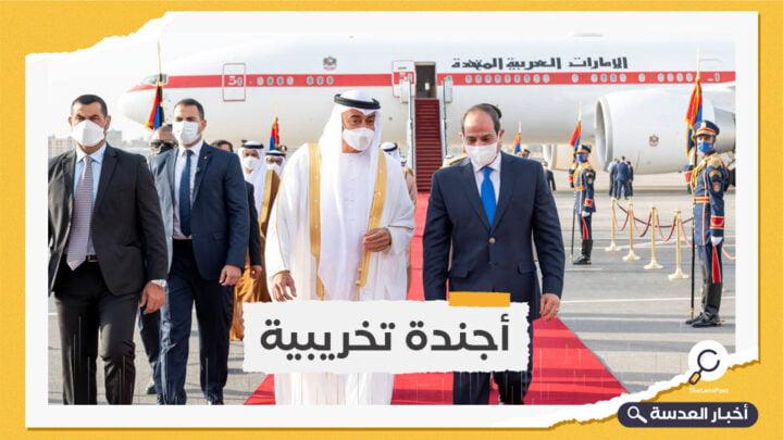 ابن زايد إلى القاهرة في زيارة قصيرة