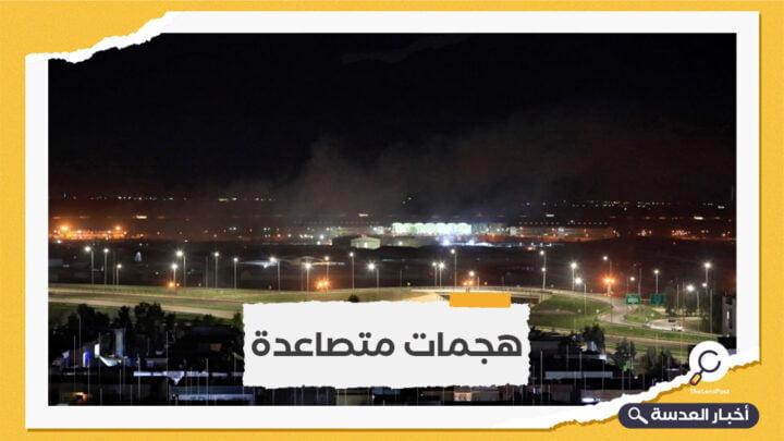 بغداد وإربيل يعتبران الهجوم على مطار إربيل يستهدف إحداث شرخ بينهما