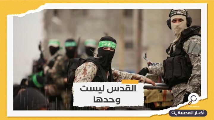 حماس: لا هدوء مع الاحتلال إذا استمر بسياساته العدوانية بالقدس