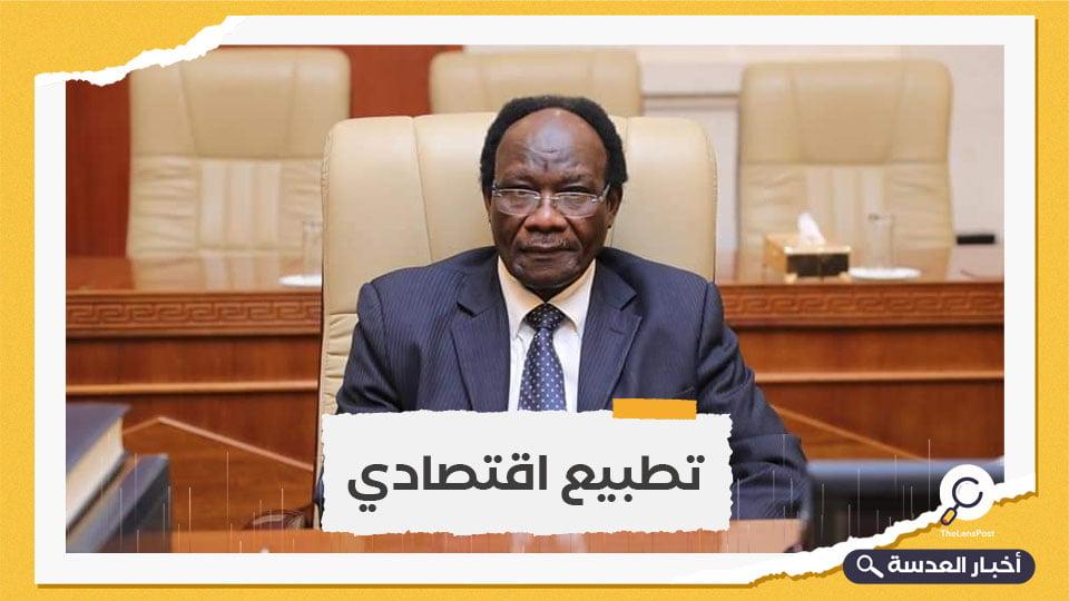 وزير سوداني يشيد بإلغاء قانون مقاطعة الكيان الصهيوني