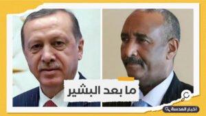 أردوغان يدعو البرهان لزيارة تركيا