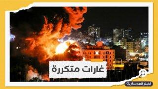 طيران الاحتلال الإسرائيلي يقصف مواقع عسكرية للنظام السوري