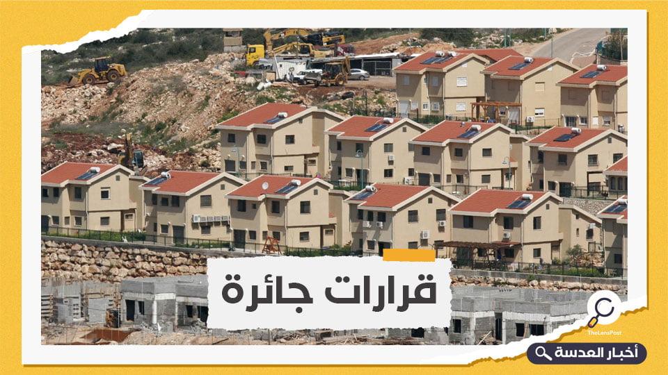 السلطة الفلسطينية: إعلان الاحتلال بناء مستوطنات جديدة تحدد للإدارة الأمريكية الجديدة