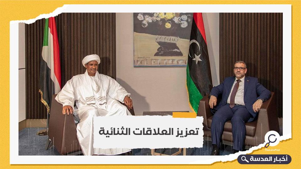 حميدتي والمشري يلتقيان في النيجر.. ودعوات متبادلة لتعزيز التعاون بين السودان وليبيا