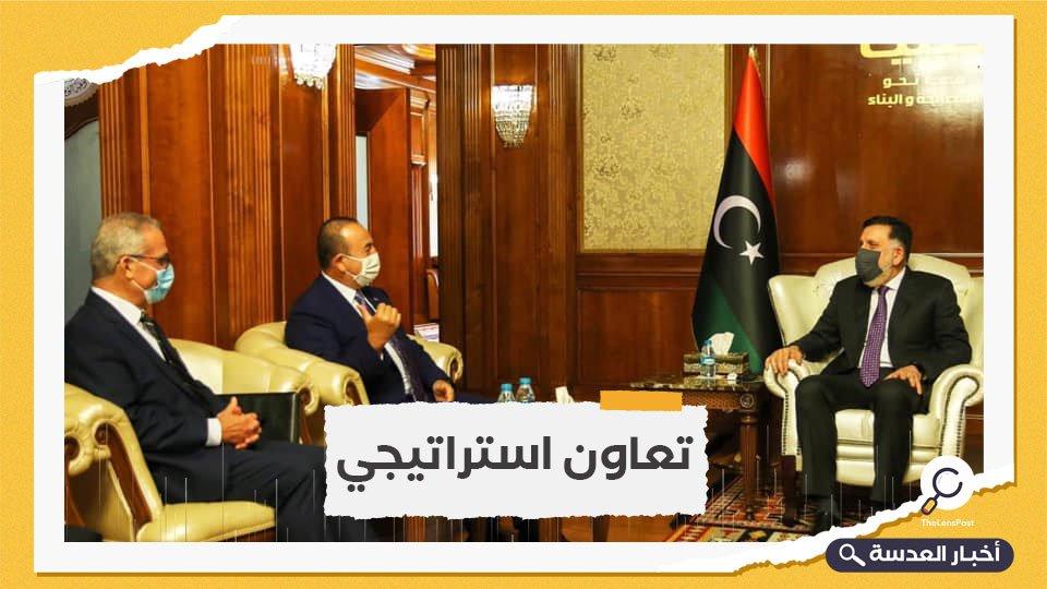 وزراء خارجية تركيا وليبيا ومالطا يلتقون في أنقرة