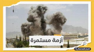استهداف قاعدة الملك خالد الجوية من قبل ميليشيات الحوثي