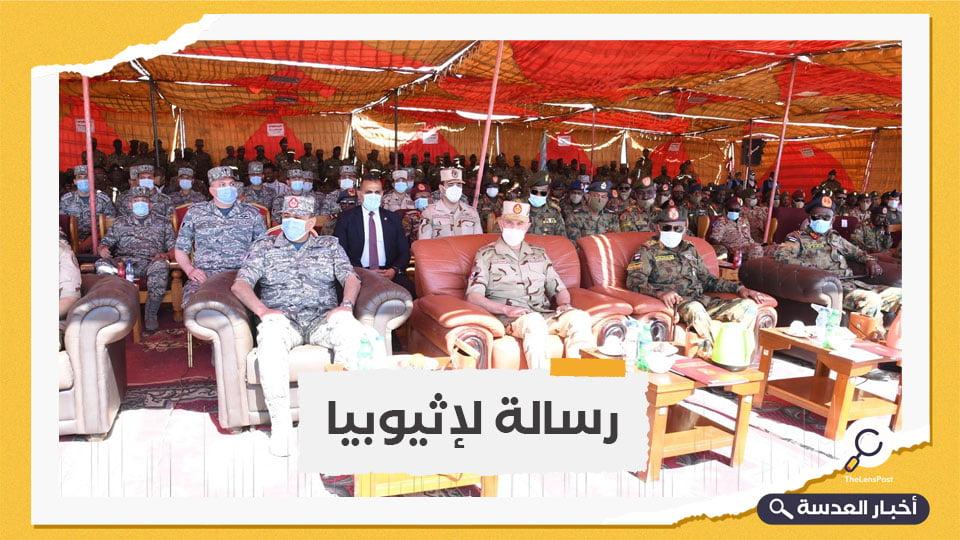 رئيس الأركان المصري ونظيره السوداني يتباحثان حول التهديدات العسكرية للبلدين