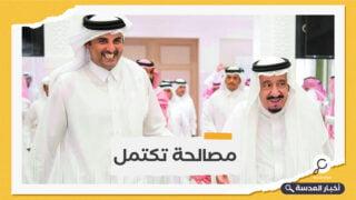 للمرة الأولى بعد اتفاق العلا.. أمير قطر يحادث العاهل السعودي هاتفيًا