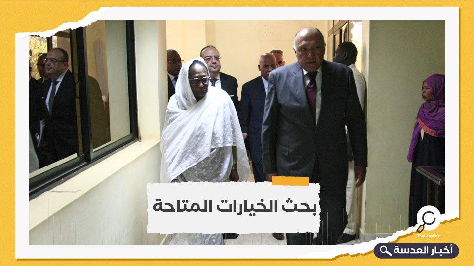 وزير الخارجية المصري إلى السودان بعد فشل مفاوضات السد