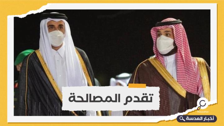 أمير قطر يزور السعودية لأول مرة بعد قمة العلا
