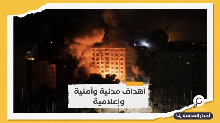 غارات صهيونية واسعة النطاق على قطاع غزة منذ ساعات الصباح الأولى