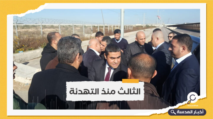 وفد مخابراتي مصري في غزة