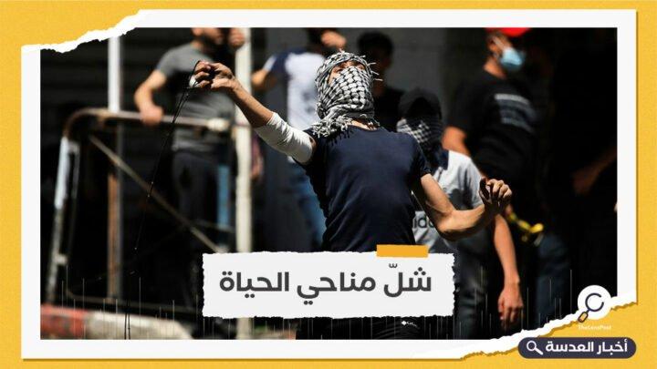 الضفة تنتفض.. مسيرات رافضة لعدوان الاحتلال وإضراب شامل