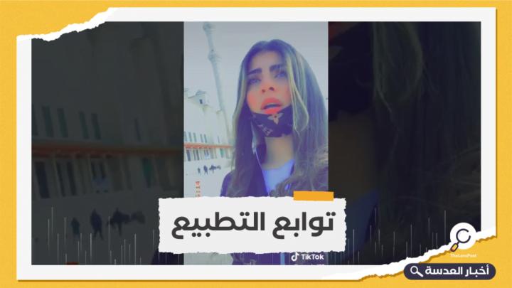 مجندة صهيونية تدعي أنها سعودية والكاميرا تفضحها