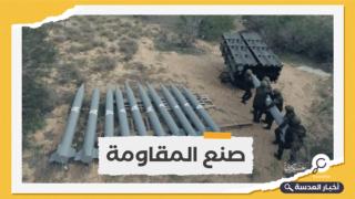 """كتائب القسام تكشف عن صاروخ جديد من طراز """" A120"""""""