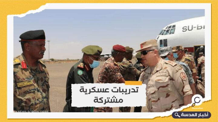 انطلاق مناورات حماة النيل بين مصر والسودان