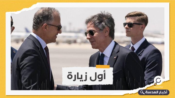 وزير الخارجية الأمريكي في مصر لمقابلة السيسي