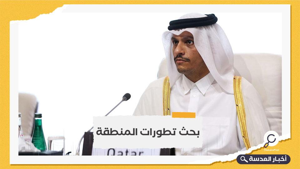 وزير خارجية قطر في زيارة لمصر تستغرق يومين