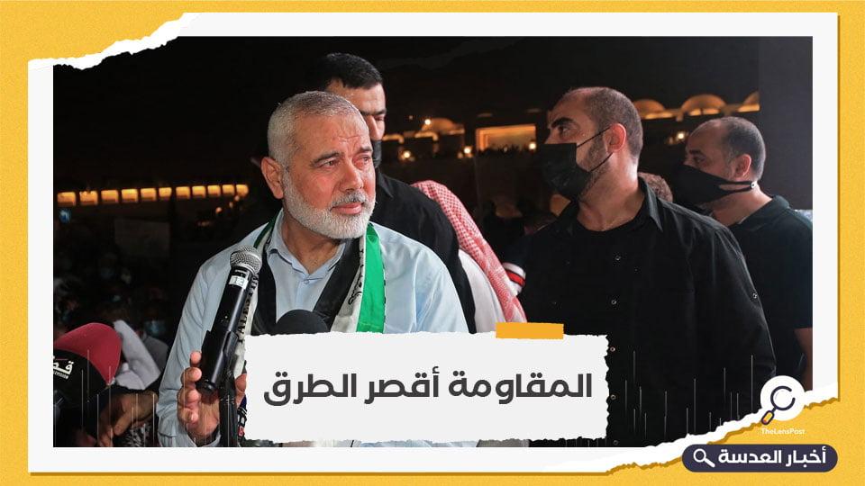 """هنية عن سلاح المقاومة وكتائب القسام: """"ما خفي أعظم"""""""
