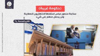 سذاجة منصور عباس استغلها الانتهازيون الصهاينة ولن يحصل منهم على شيء