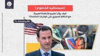 كيف يؤثر تطبيع الأنظمة العربية مع النظام السوري على الولايات المتحدة؟