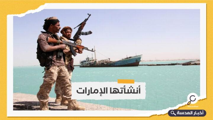 الحكومة اليمنية تحقق في إنشاء قاعدة عسكرية بجزيرة ميون