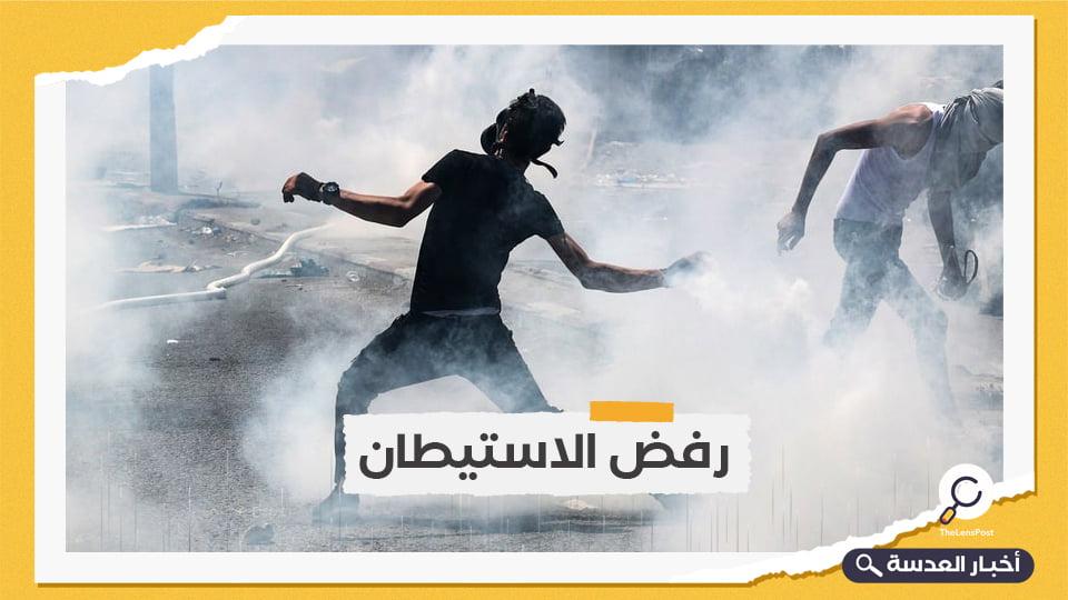 الاحتلال يعتدي على فلسطينيين بالضفة ويصيب المئات