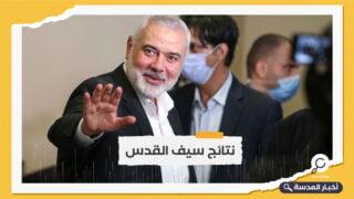 هنية يلتقي عباس كامل في القاهرة