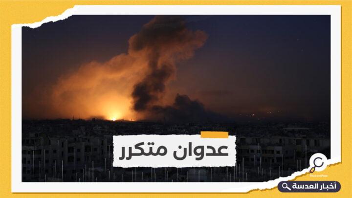 الاحتلال الإسرائيلي يشن عدوانًا جويًا على دمشق