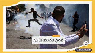 تظاهرات كبيرة برام الله عقب اغتيال نزار بنات